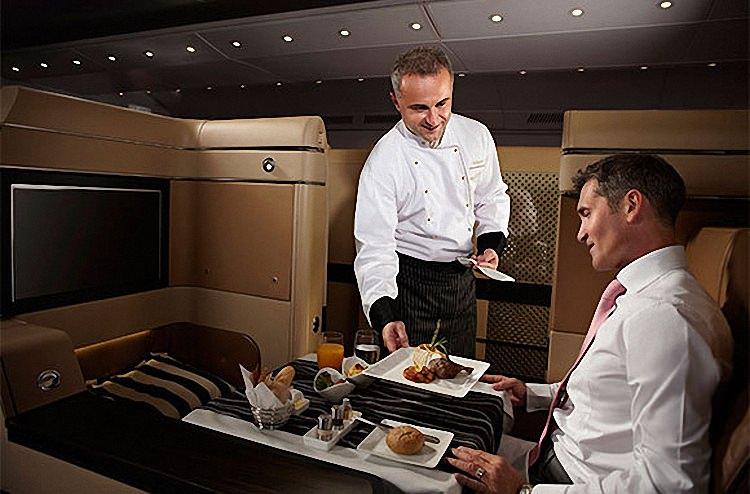 Питание в самолете - обзор авиакомпаний мира (9)