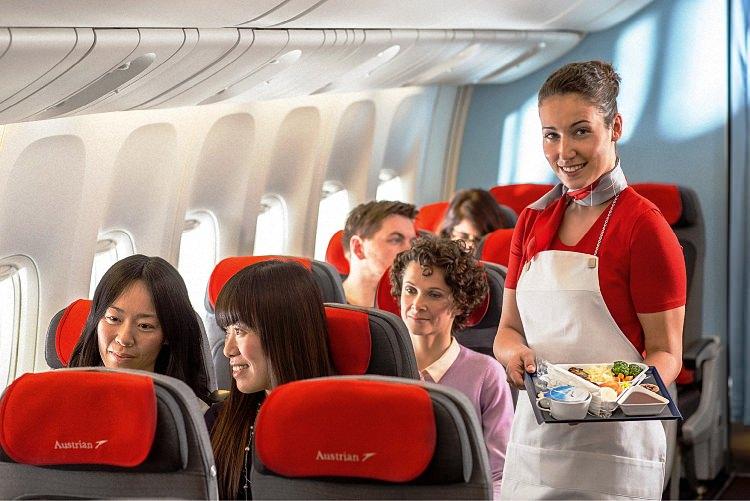 Питание в самолете - обзор авиакомпаний мира (14)