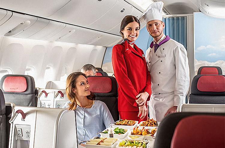 Питание в самолете - обзор авиакомпаний мира (13)