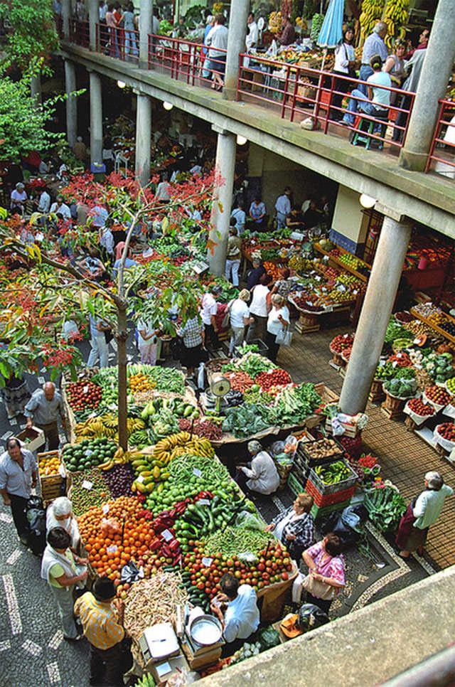 Уникальные рынки мира - фотогалерея (35)