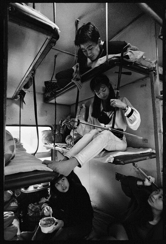 Жизнь на железной дороге в фотографиях Ван Фучуна (Wang Fuchun) (13)