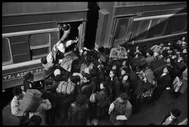 Жизнь на железной дороге в фотографиях Ван Фучуна (Wang Fuchun) (20)
