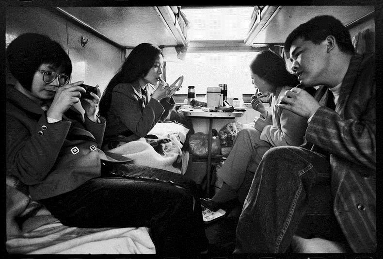 Жизнь на железной дороге в фотографиях Ван Фучуна (Wang Fuchun) (4)