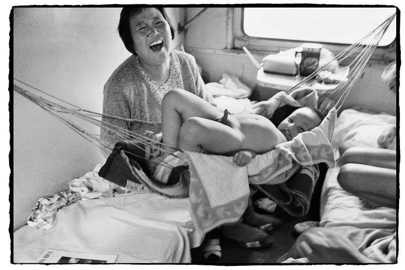 Жизнь на железной дороге в фотографиях Ван Фучуна (Wang Fuchun) (6)