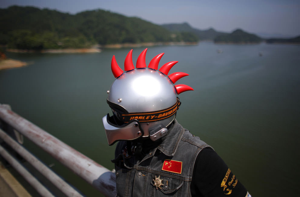 Байкеры в Китае (13)