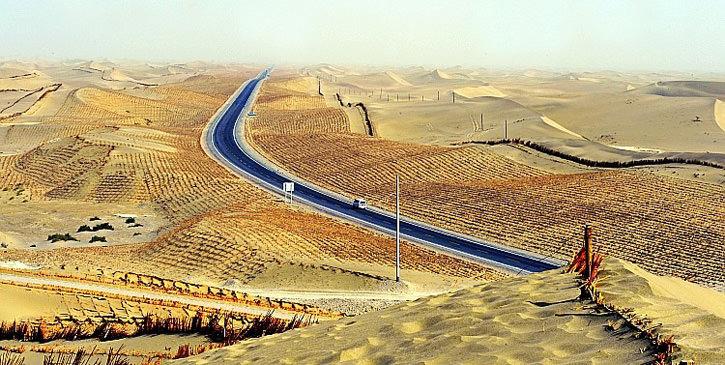 Самое длинное пустынное шоссе в мире (6)