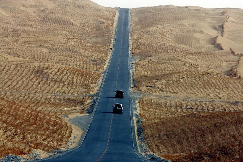 Самое длинное пустынное шоссе в мире (9)