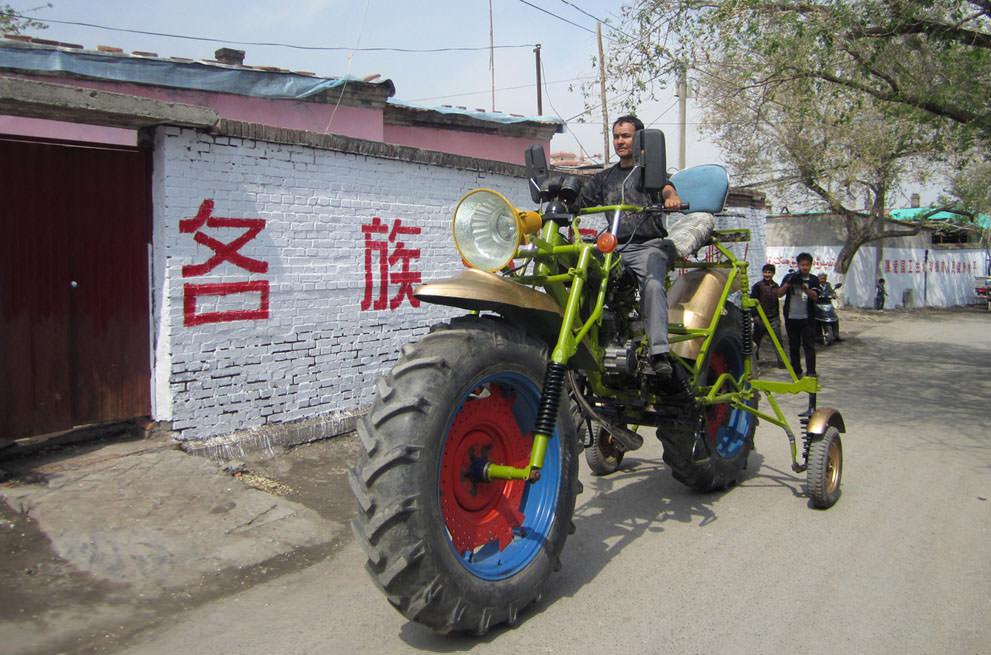 Китайские дивные изобретения от местных мастеровых (2)