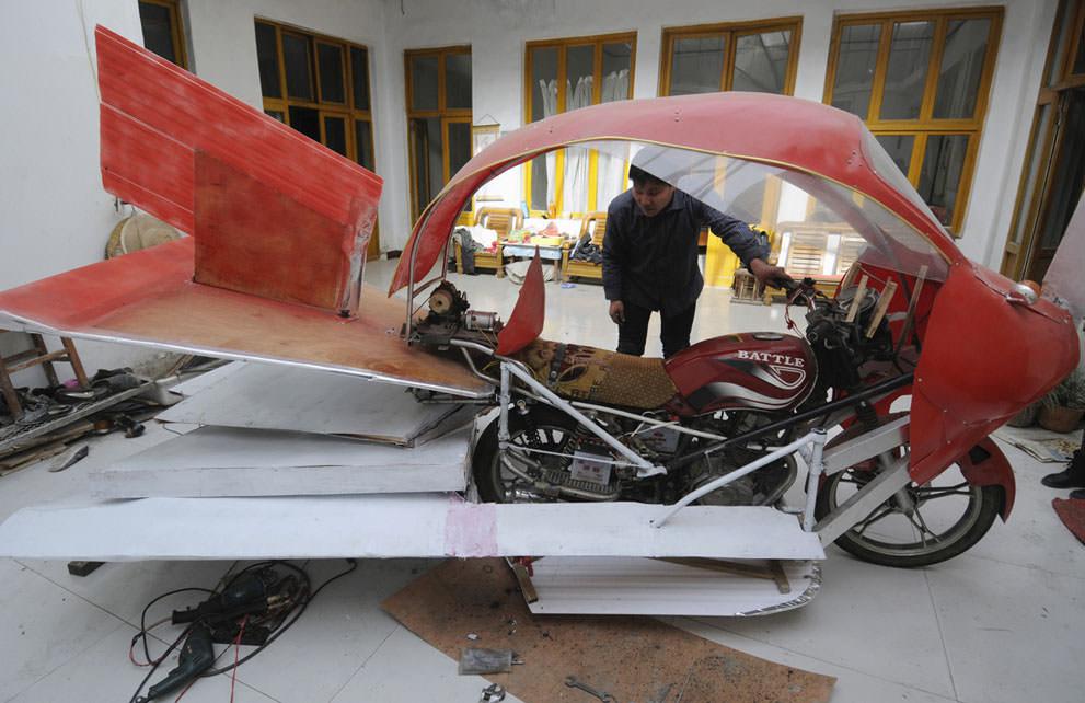 Китайские дивные изобретения от местных мастеровых (4)