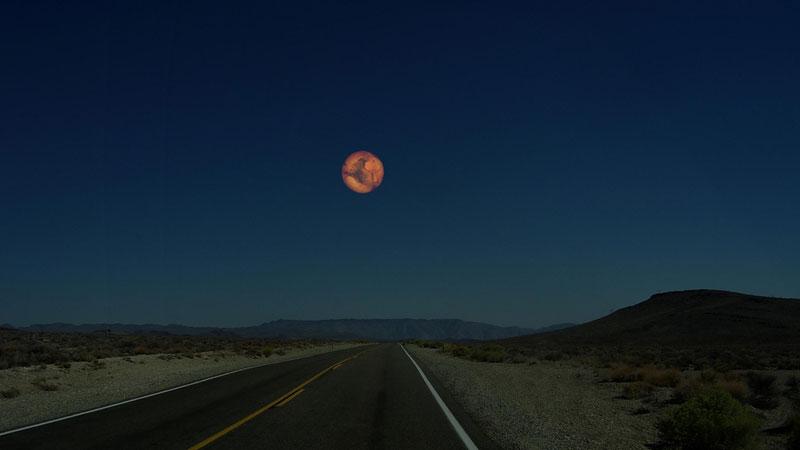 Планеты Солнечной системы на горизонте Земли (2)