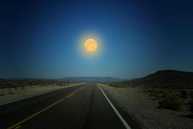 Планеты Солнечной системы на горизонте Земли (3)