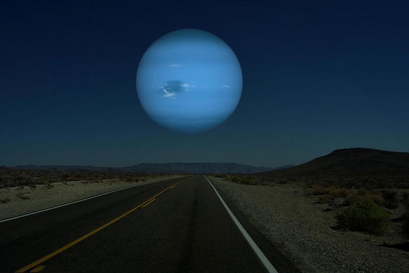 Планеты Солнечной системы на горизонте Земли (4)