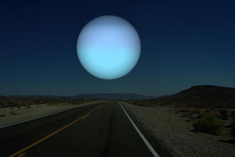 Планеты Солнечной системы на горизонте Земли (5)