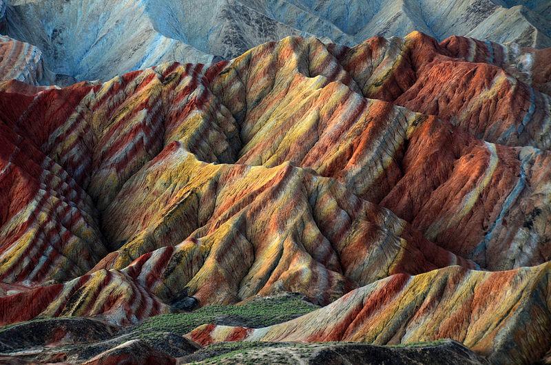 Красные скалы Чжанъе Данксиа (1)