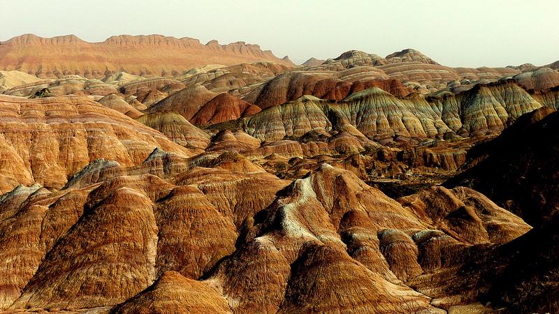 Красные скалы Чжанъе Данксиа (3)