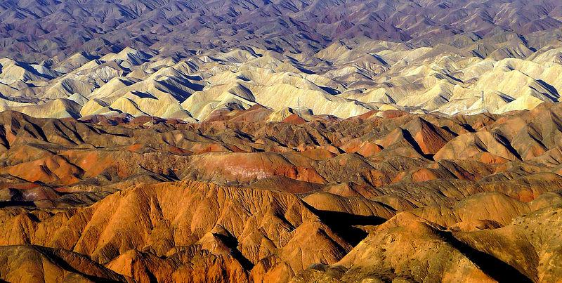 Красные скалы Чжанъе Данксиа (5)