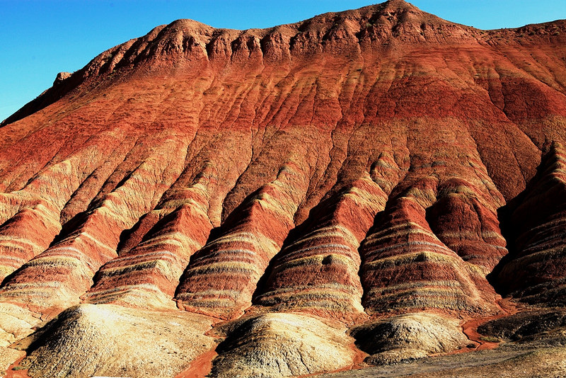 Красные скалы Чжанъе Данксиа (7)