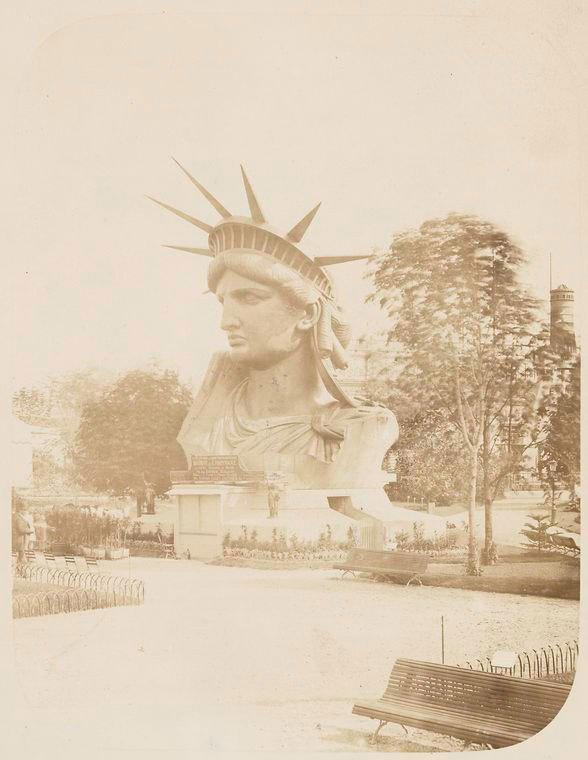 Редкие фотографии Статуи Свободы (7)