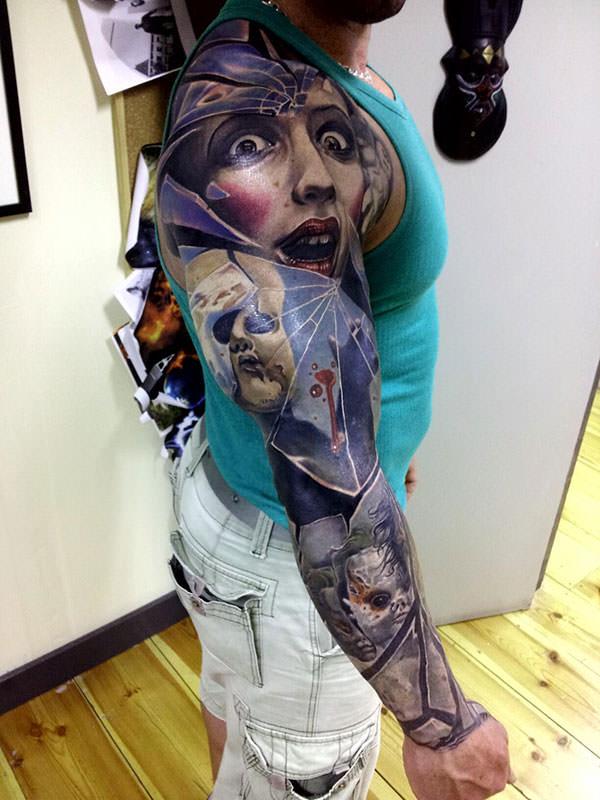 Порнуха с татуировками самые красивые 20 фотография