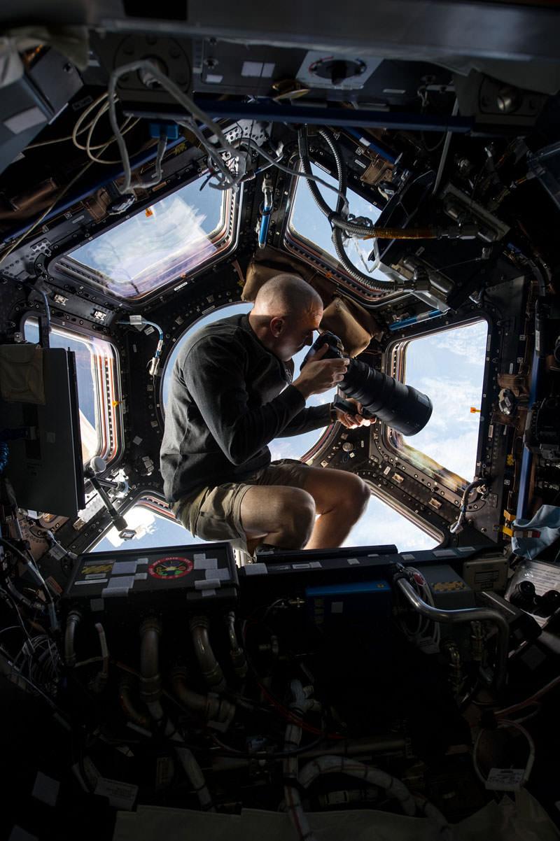 Купол МКС - окно в Космос (1)