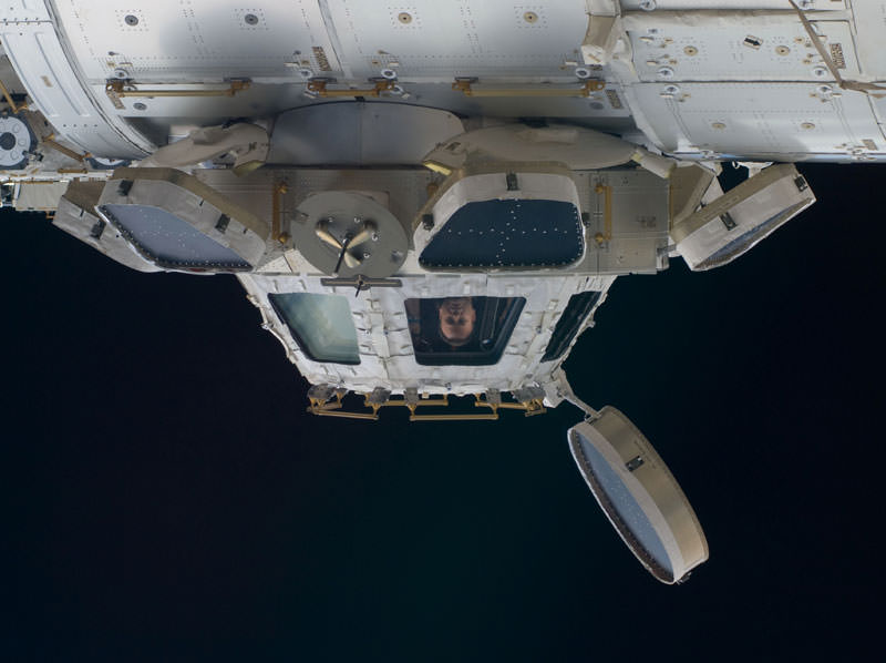 Купол МКС - окно в Космос (3)