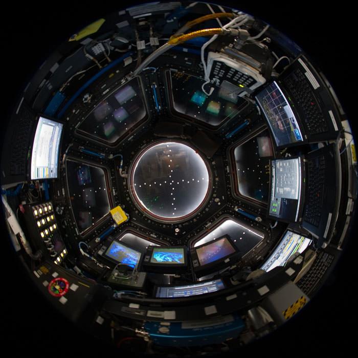 Купол МКС - окно в Космос (5)