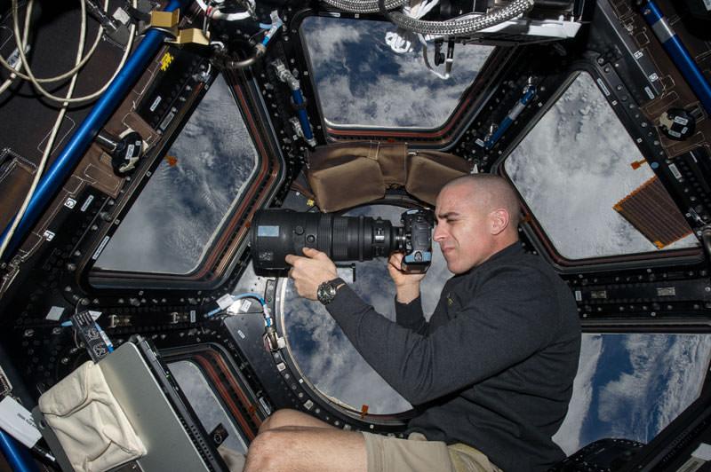Купол МКС - окно в Космос (6)