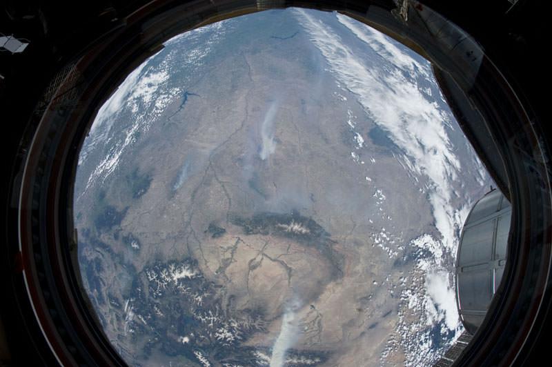 Купол МКС - окно в Космос (7)