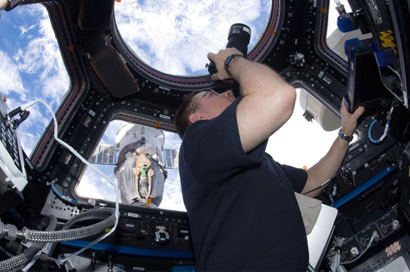 Купол МКС - окно в Космос (9)