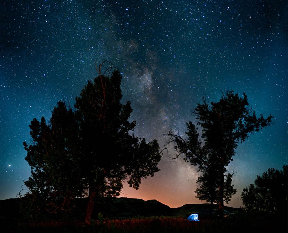 Отдых на природе под звездами (1)