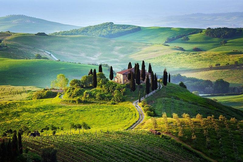 красивые пейзажи Италии