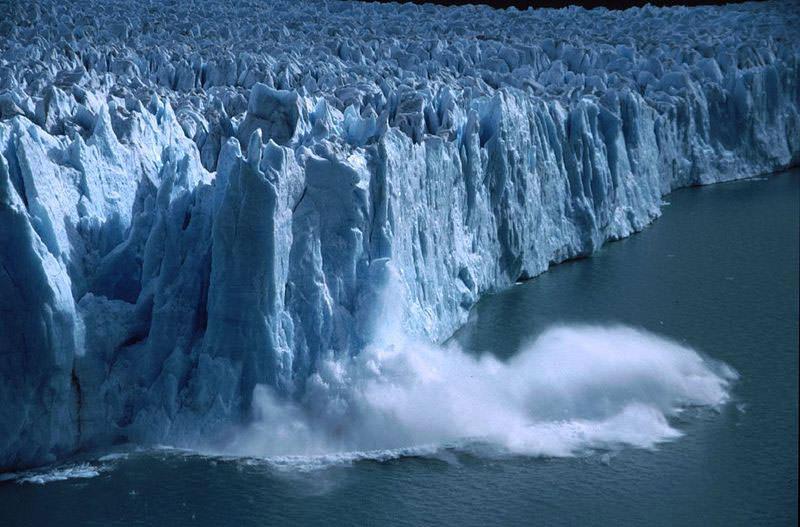 обвал льда