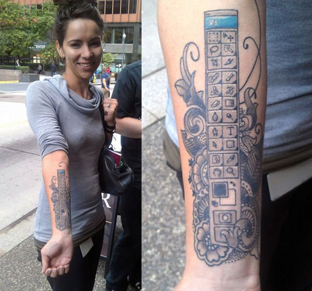 Татуировки на сиськах фото