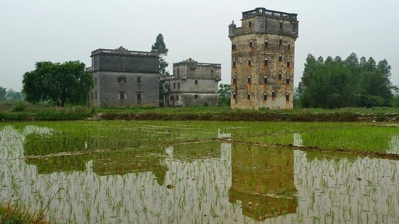 Старые башни Дяолоу (Diaolou) (4)