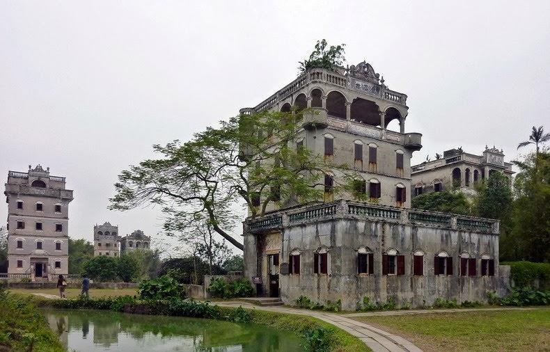 Старые башни Дяолоу (Diaolou) (6)