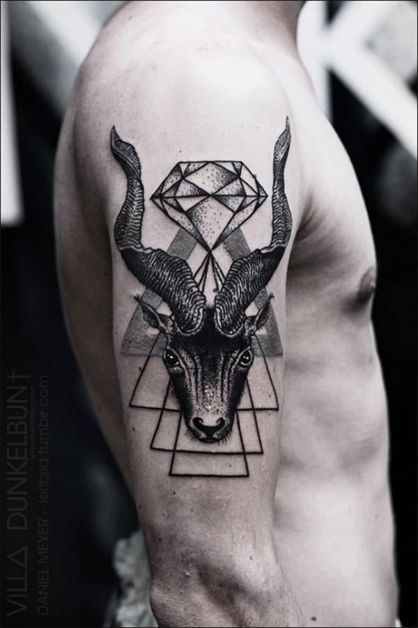геометрические тату картинки