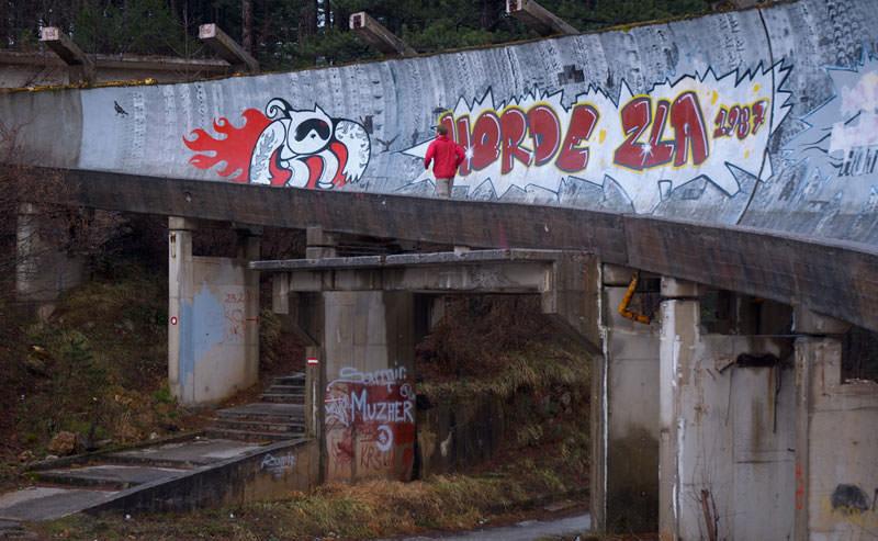 Зимние виды спорта на Олимпиаде - Сараево' 84 (8)