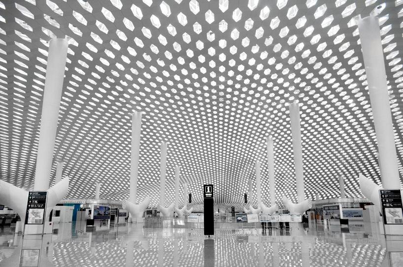 Удивительный терминал международного аэропорта Шэньчжэнь (23)