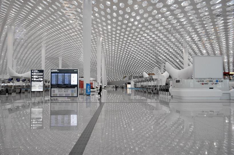 Удивительный терминал международного аэропорта Шэньчжэнь (21)