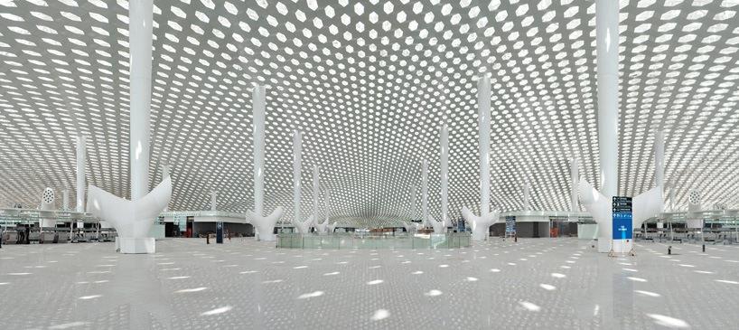 Удивительный терминал международного аэропорта Шэньчжэнь (20)