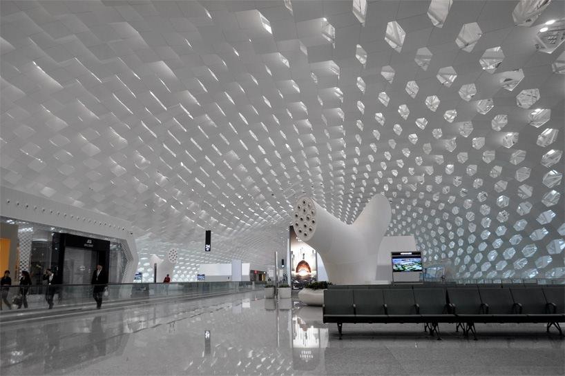 Удивительный терминал международного аэропорта Шэньчжэнь (18)