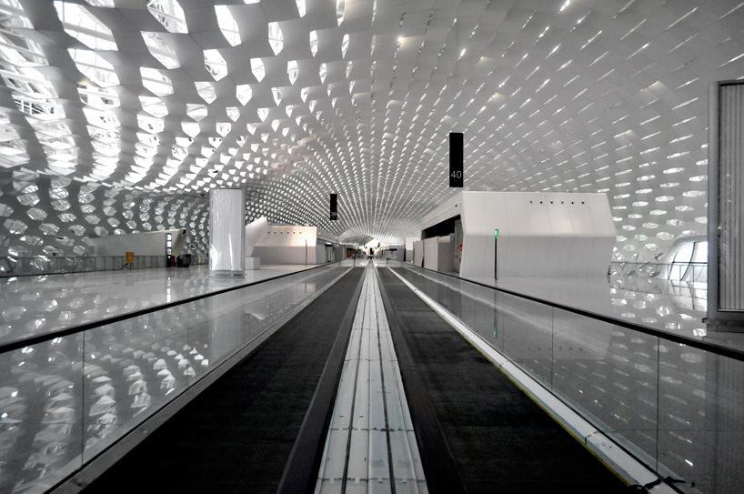 Удивительный терминал международного аэропорта Шэньчжэнь (16)