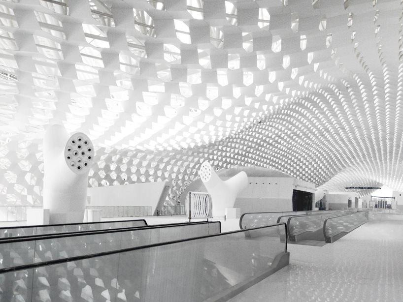 Удивительный терминал международного аэропорта Шэньчжэнь (15)