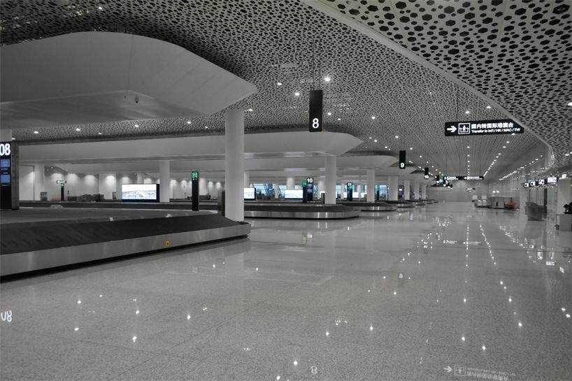 Удивительный терминал международного аэропорта Шэньчжэнь (8)