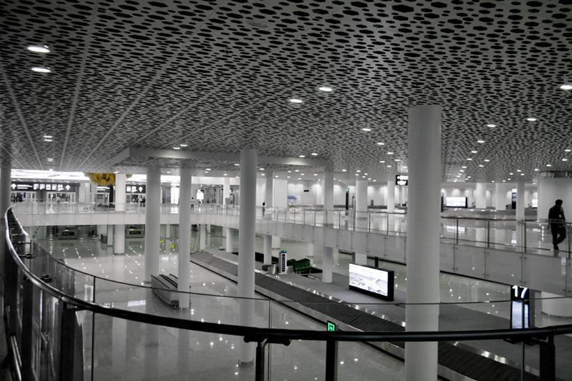 Удивительный терминал международного аэропорта Шэньчжэнь (5)